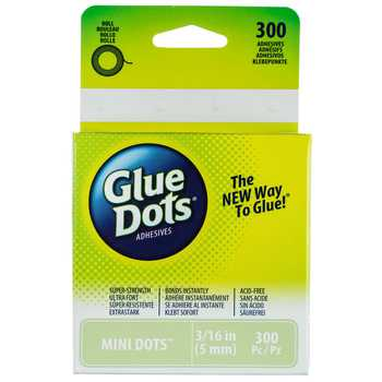 "3/16"" Mini Glue Dots"